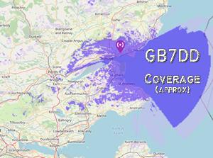 GB7DD Prediction Coverage Map